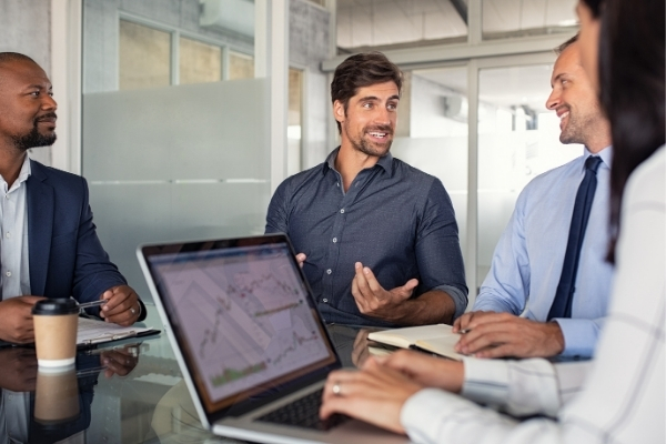 best-online-meeting-management-software-man-speaking
