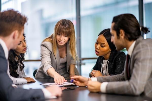 best-meeting-management-software-woman-speaking